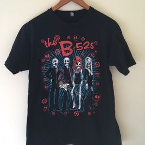 Tops - B52's B-52's Skull Day of the Dead Band T Shirt